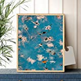 N/A Canvas Painting Decorative Art Painting Summer
