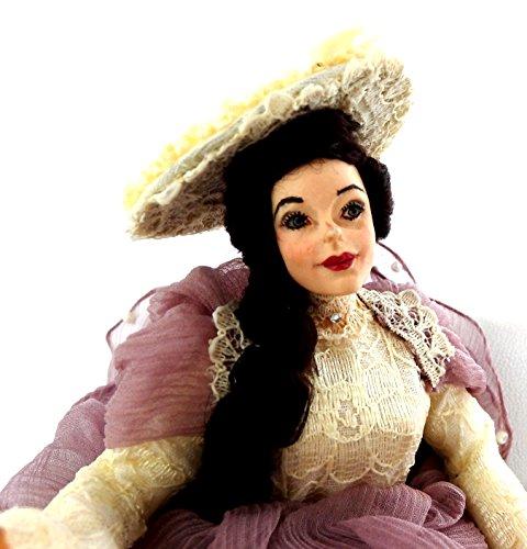 Melody Jane Maison Dame en Lilas Figurine Joan Personnage Miniature Falcon People