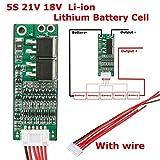 GAOHOU 5S 21V 18V 15A Li-ion Akku Batterie Schutzschaltung PCB BMS Schutz Brett