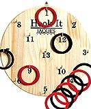 Jaques of London Hoopla - Hook It Garden Hoopla Gioco e giocato Come Ring Toss o Freccette - i Popolari Giochi Indoor - Gioca e impara dal 1795