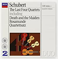 Schubert: Last 4 Quartets by Franco Rossi (1995-04-11)