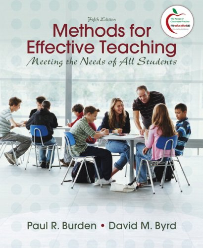 Methods for Effective Teaching: Meeting the Needs of All...