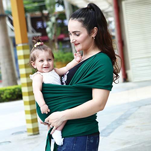 TehyRFGK babydrager - alles in één uittrekbaar, voor baby/borstvoeding - handsfree - voor baby's/baby's tot 35 kg (0 – 36 maanden)