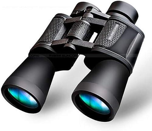 Qnlly Jumelles, télescope 20X60 HD Prisme BaK-4 Revêtement Multicouche FMC Chasse extérieure Oeil d'oiseau Champ de Vision Ultra-Clair