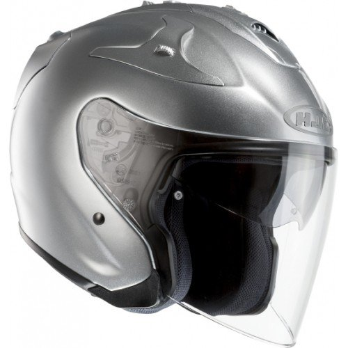 Casque jet modulable
