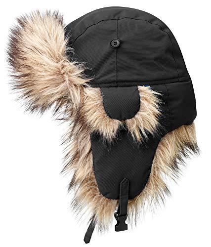 FJÄLLRÄVEN Chauffage Nordique Chapeau Mixte Adulte, 550 Noir, FR (Taille Fabricant : XL)