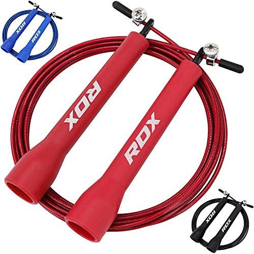 RDX Skipping Rope MMA Boxing Gymnastics Fitness Adjustable Gym PVC Jump...