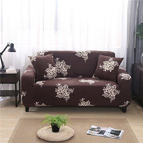 WXQY Funda de sofá de combinación Flexible para Sala de Estar, Funda de sofá con Todo Incluido, Funda Protectora de sofá a Prueba de Polvo, Funda de sofá A24, 1 Plaza