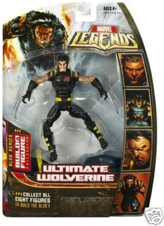 artículos novedosos Marvel Legends Series Series Series 17 (Hasbro Series 2) Acción Figura Ultimate Wolverine  edición limitada
