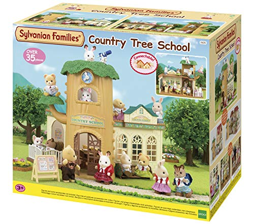 Sylvanian Families- Country Tree School Mini muñecas y Acce