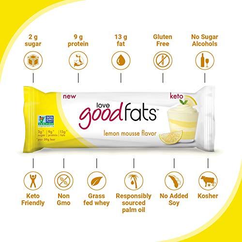 Love Good Fat Protein Bars