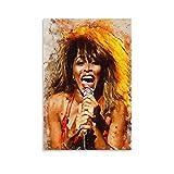 baozou Tina Turner Poster, dekoratives Gemälde, Leinwand,