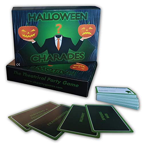 Halloween Party Game .•:*¨ HALLOWEEN CHARADES ¨*:•. Theatrical Fun...