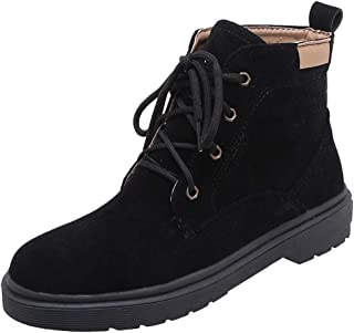 ELEEMEE Women Causal Autumn Short Boots