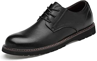 2019 Mens New Lace-up Flats Men's Casual Comfortable Fashion Oxford Round Toe Classic Solid Color Formal Shoes