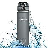 PROIRON Botella Agua Deporte Tritan Sin BPA Botella Reutilizable para Senderismo al Aire Libre, Viajes de Campamento