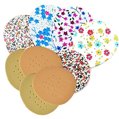 Yueser 30 pares Almohadillas Delanteras Medias Plantillas Zapatos,Elásticas Almohadillas del Antepié de Gel de Silicona para Alivio del Dolor del Antepié Para Todo Tipo de Zapatos y Botas