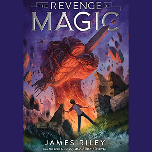 The Revenge of Magic audiobook cover art
