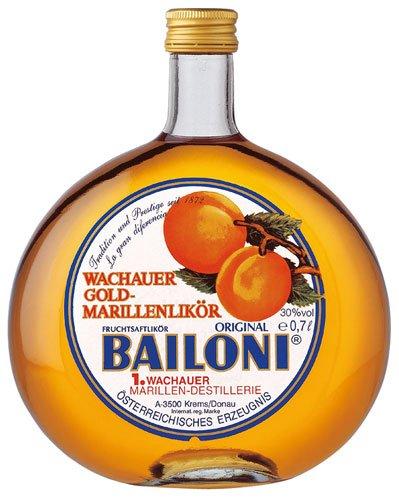2x Bailoni - Wachauer Gold Marillenlikör - 700ml