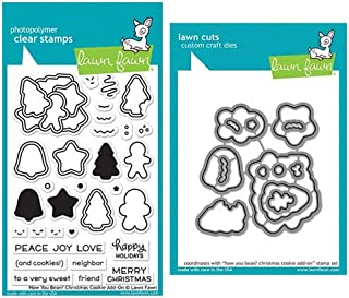 Lawn Fawn Clear Stamp & Die Set - How You Bean? Christmas Cookie Add-On (Kit)