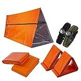 Kit de supervivencia de emergencia 7 en 1 para 2 personas- Preparación para emergencias al aire...