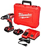 Product Image of the Milwaukee 2606-22CT M18 Cordless Drill/Driver Kit, 18 V, Red