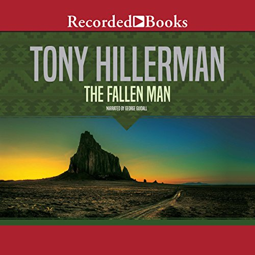 The Fallen Man Audiobook By Tony Hillerman cover art