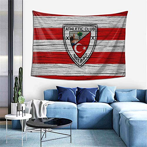 Athl-Etic Club De Bilb-Ao Bedroom Living Room Decoration Wall Hanging Tapestry Bedspread Picnic Sheets 60*40inch