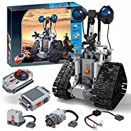 Technic RC Robot: A total of 408Pcs, The Robot is a fun and unique building toy. It is a fun playmate, it is also an educational toy, can help children learn science knowledge and develop good living habits. Robots have multiple functions that can ke...