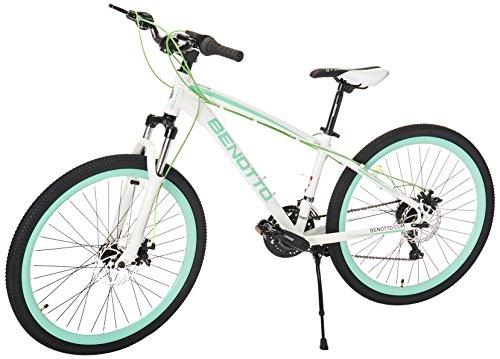 Benotto MSDLAN2621UNBL Bicicleta de Aluminio Rodada R26, Dama, 21 Velocidades