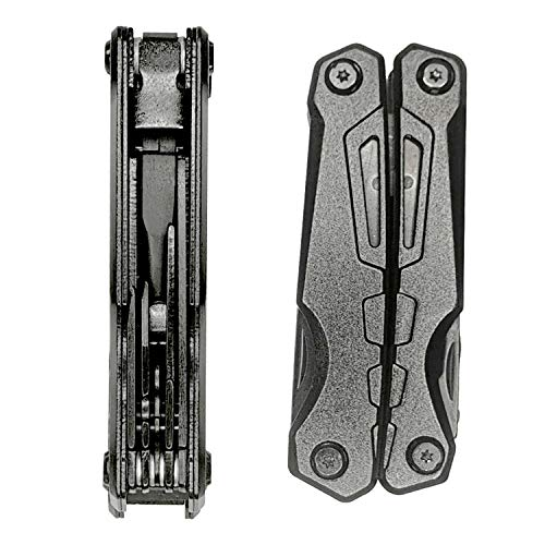 Multitool Pocket Plier 10 in 1 Multifunction include Blade, Phillips Screwdriver, Bottle Opener with Sheath