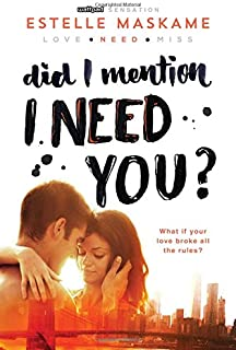 Did I Mention I Need You? (Did I Mention I Love You (DIMILY))
