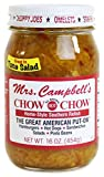 Mrs. Campbell's All Natural Hot Southern Chow Chow Relish, 16 Oz Glass Jar...
