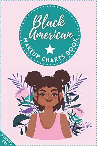 Black American Makeup Charts Book: Basic Face Charts to Practice Makeup & Coloring for Kids & Young Aspiring Makeup Artists | 120 Face Charts | 6x9 Inches