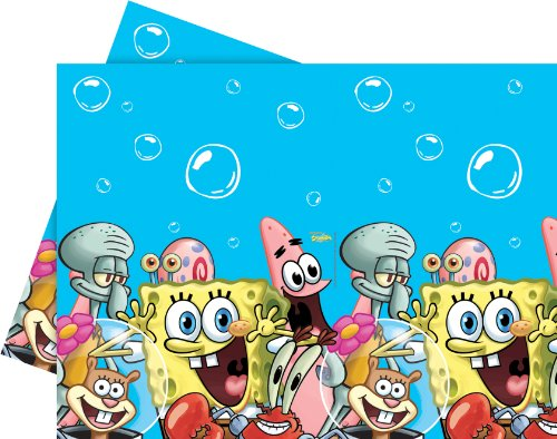 Amscan Spongebob Party-Tischdecke
