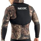SEAC Weight Vest Chaleco para plomos, apnea y Snorkel, Adultos Unisex, Negro