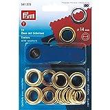 Ösen mit Scheiben für Bekleidung, Wohndeko oder Bastelarbeiten Inklusive Werkzeug zur leichten Anwendung Rostfreies Messing