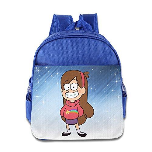 Elf Story–Gravity Falls Mabel Little Kid Baby Jungen Mädchen Kleinkinder Rucksack Tasche Königsblau, Königsblau (Blau) - ELF-CB-9727703-RoyalBlue-29