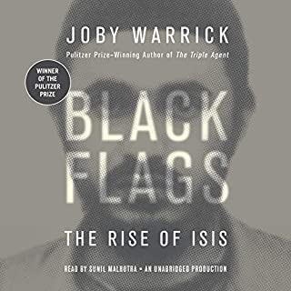 Black Flags audiobook cover art