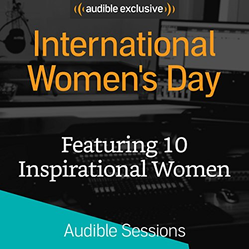 International Women's Day audiobook cover art