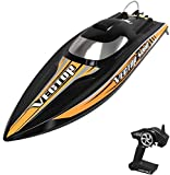 VOLANTEXRC Brushless RC Boat VectorSR80 for Adults, 45mph High-Speed Remote Control Boat with Self-Righting for Lake & River, ARTR Version NO Battery (798-4 ARTR)