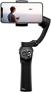WZHZJ 3-Axis Foldable Pocket Sized Handheld Gimbal Stabilizer for Smartphone Wireless Charging