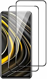 واقي شاشة لـ Oppo A94 5G من BAIDIYU ، مضاد للخدش، مضاد للبصمة، واقي شاشة من الزجاج المقوى لـ Oppo A94 5G. (عبوتان)