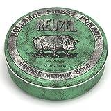 REUZEL Green Pomade Grease, Medium Hold, 12 oz.