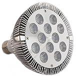 SPLamp-24w 観賞用植物育成LED スポットライト 白/赤 植物育成用660nmLED使用 水耕栽培 室内栽培 白/赤 観賞用ライト