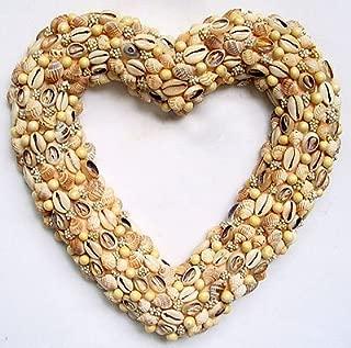 Best seashell heart wreath Reviews