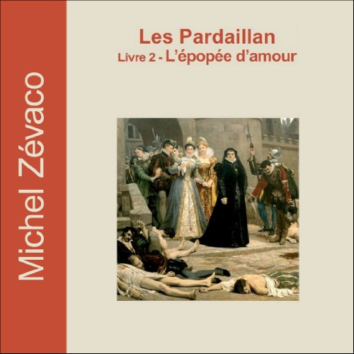 L'épopée d'amour audiobook cover art