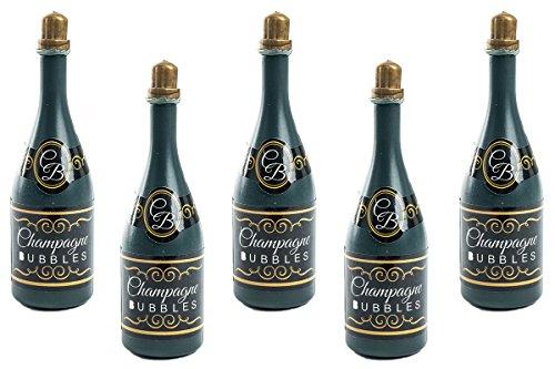 Wedding Bubbles Seifenblasen Hochzeit Glasform Gastgeschenk Geburtstag Mitbringsel Champagner Sekt (48 St.)