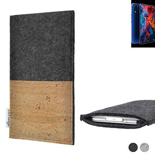 flat.design Handy Tasche Evora für Archos Diamond 2019 Kartenfach Kork Schutz Hülle passexakt handgefertigt fair