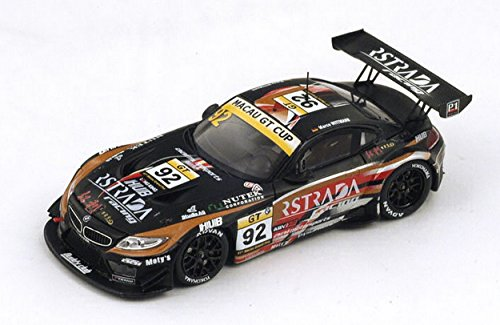 Spark Model SA073 BMW Z4 GT3 N.92 7th Macau GP GT Cup 2014 M.Wittmann 1:43 Model Compatibile con BMW
